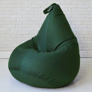 Кресло-груша  БИНБЕГ, цв. темно-зеленый
