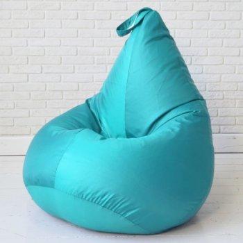 Кресло-груша БИНБЕГ, цв. бирюза