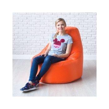 Кресло-банан цв. оранжевый