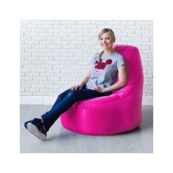 Кресло-банан цв.фуксия