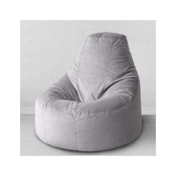 Кресло-банан цв. сталь