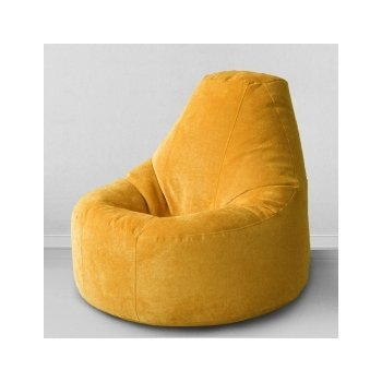 Кресло-банан цв. жёлтая горчица