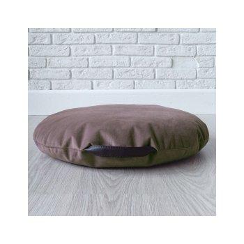 Подушка-сидушка цв. шоколад