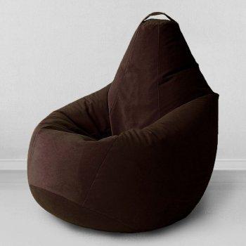 Большое кресло-грушак «Спайк», цв.горький шоколад