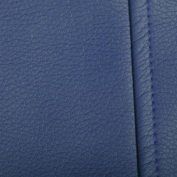 Кубик 45x45, экокожа, цв. синий