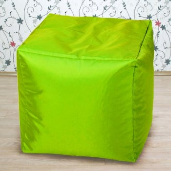 Кубик 45x45, цв. салатовый неон