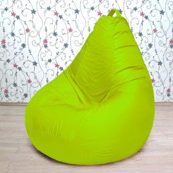 """Большое кресло-груша """"Биг БИНБЕГ"""", цв. салатовый неон"""