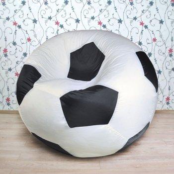 """Футбольный мяч """"Дружба"""", цв. белый с черным"""
