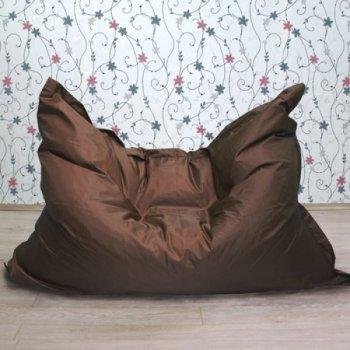 """Большое кресло-подушка """"БЛЮЗ"""", цв. шоколад"""