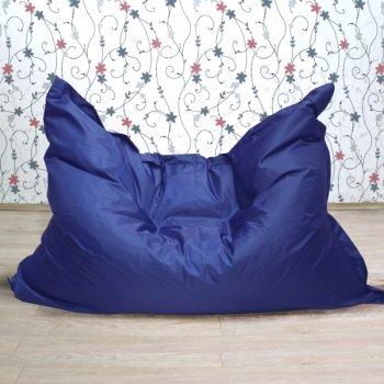 """Большое кресло-подушка """"БЛЮЗ"""", цв. василек"""