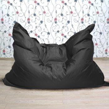 """Большое кресло-подушка """"БЛЮЗ"""", цв. черный"""