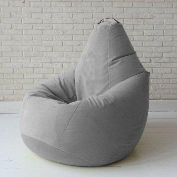 Кресло-груша «Cпайк» цв. сталь