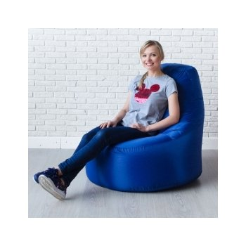Кресло-банан цв. василёк