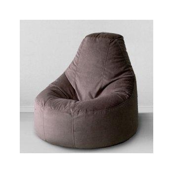 Кресло-банан цв. горький шоколад