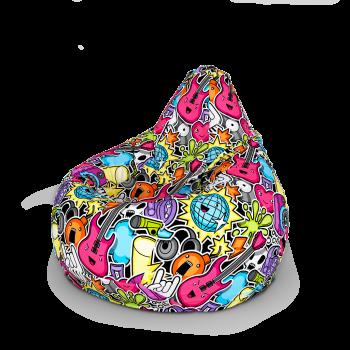 Кресло мешок «Груша» Ткань № 349