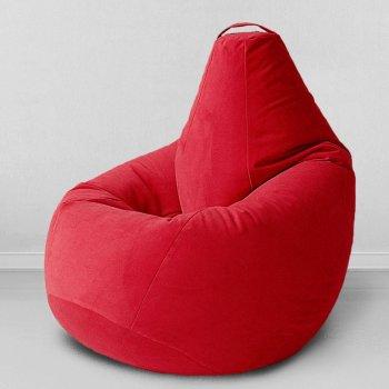 Большое кресло-груша «Спайк», цв.красный