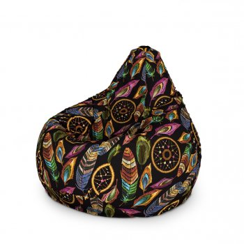 Кресло мешок «Груша» Ткань № 389