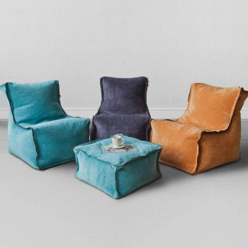 Бескаркасное кресло