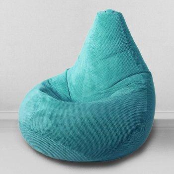 Большое кресло мешок «Велюр», цвет — менол