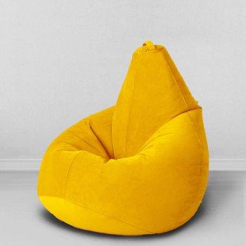 Большое  кресло  груша  желтое