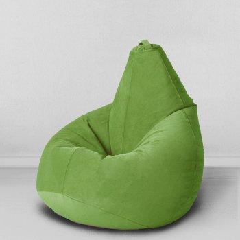 Большая груша  матово -зеленая