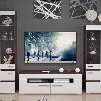 Набор мебели «Фьюжн» №2 (Белый глянец, Венге Линум)
