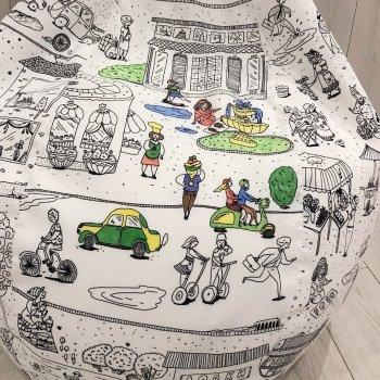 Кресло Мешок Груша Раскраска