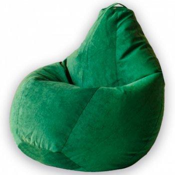 Кресло Мешок Груша Зеленый Микровельвет