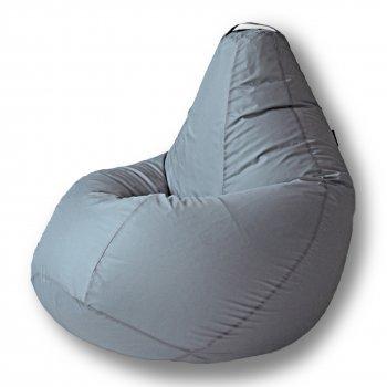 Кресло-груша БИНБЕГ, цв. серый