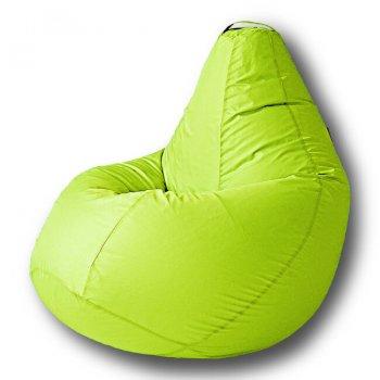 Большое кресло-мешок, размер Комфорт, цвет — салатовый неон