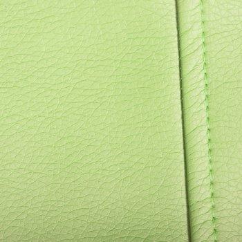 Большое кресло-груша OTTO, экокожа, цв. салатовый