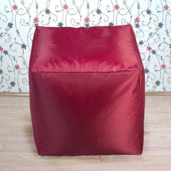Кубик 45x45, цв. бордовый